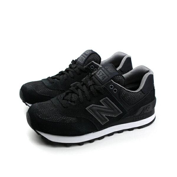 NEW BALANCE 574系列 休閒鞋 黑色 女鞋 no108 楦頭(窄)