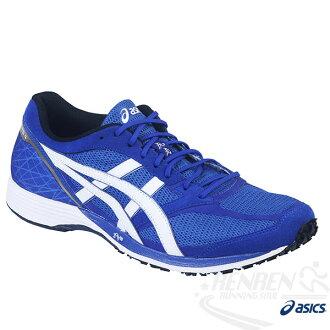 ASICS亞瑟士 虎走 男路跑鞋TARTHERZEAL 4 (藍) 超輕量透氣  2016年新款