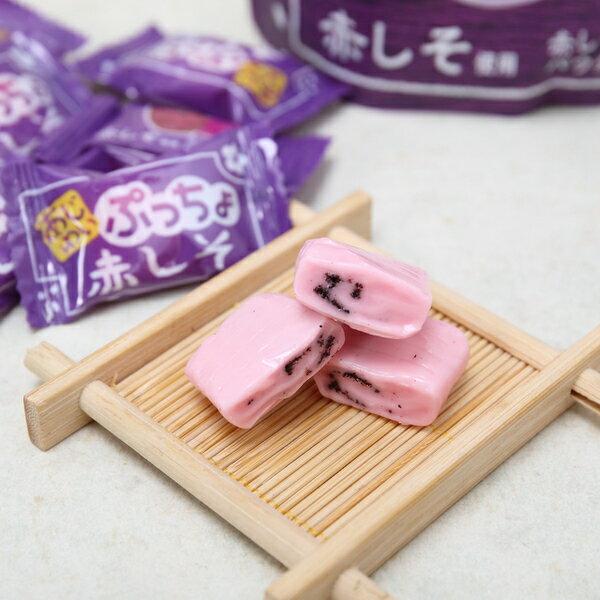 有樂町進口食品 日本進口 UHA味覺糖噗啾 紫蘇梅軟糖 60g 49027508666522 3
