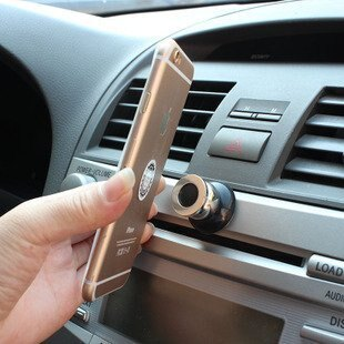 手機平板磁力支架 手機磁吸式萬用支架 360度旋轉磁性多 手機架 汽車用品磁鐵支架 手機架