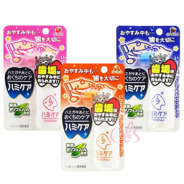 日本 Akachan阿卡將 潔牙噴霧 綠茶多酚 防蛀牙噴霧25g 3種味道 供選 ☆艾莉莎ELS☆ 現貨