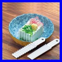 廚房波浪形切豆腐刀創意家居DIY模具美觀花樣切片器2個  5830-1