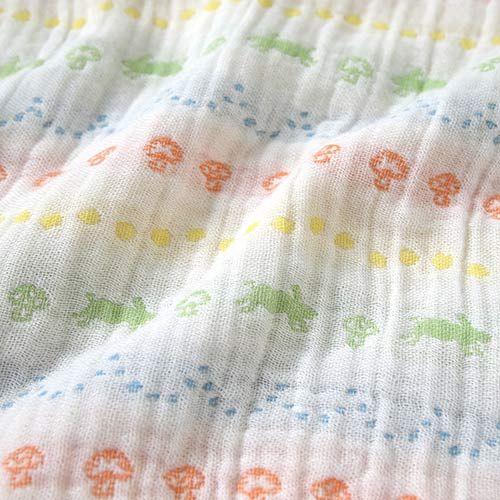 【安琪兒】日本【Hoppetta】彩虹蘑菇四層紗被 4