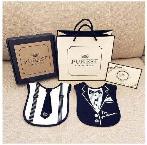 PUREST baby collection【怎樣兜很帥】禮盒組 (西裝+領帶) 0