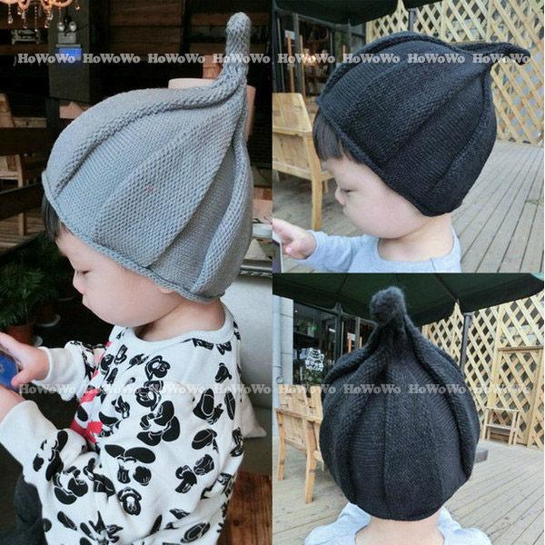 寶寶帽 套頭帽 針織毛線帽 嬰兒帽  螺旋帽 防曬必備 BU2810