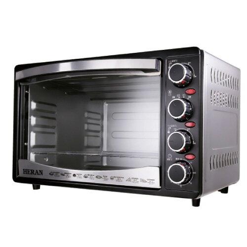 禾聯 HERAN 30L 四旋鈕電烤箱 HEO-3001SGH