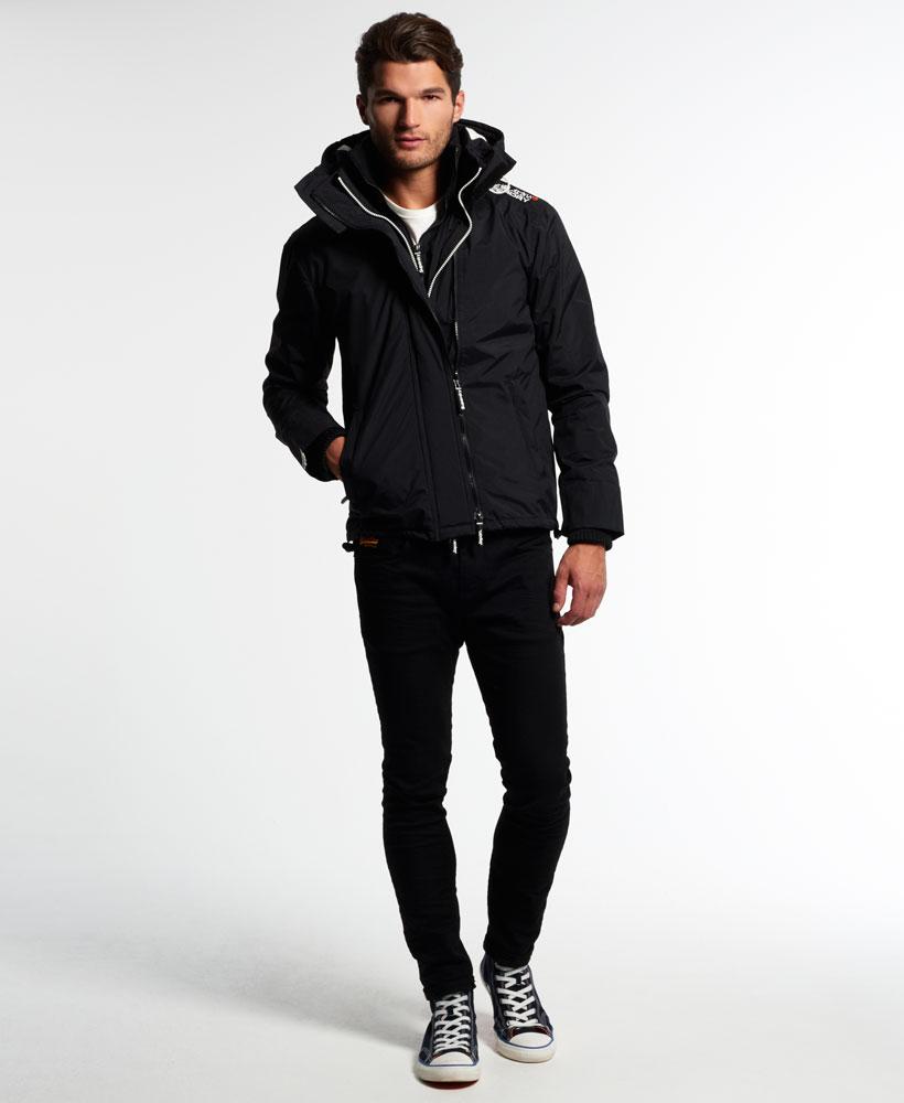 [男款] 英國代購 極度乾燥 Superdry Arctic 男士風衣戶外休閒 外套夾克 防水 防風 保暖 黑色/白色 1