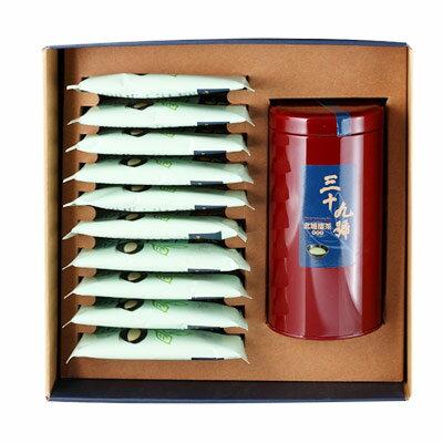 《好客-39號北埔擂茶》精品禮盒組 一罐裝(300克擂茶粉)+10包隨身包(免運商品)