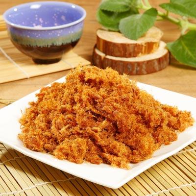 《台灣客家-霽月肉鬆》A023001 原味肉鬆(250g/罐),共兩罐