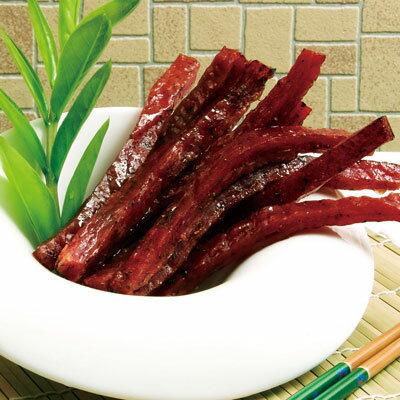 《台灣客家-霽月肉鬆》A023016 黑胡椒棒棒豬(300g/包),共兩包