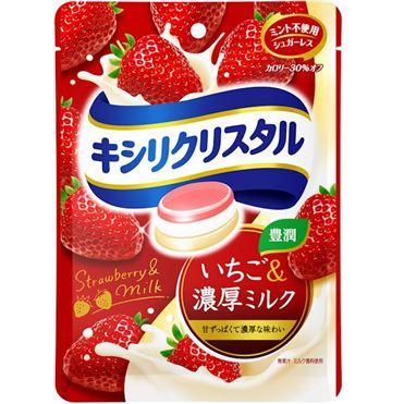 有樂町進口食品 日本進口 三星低卡薄荷喉糖 草莓&濃牛奶 4547894702604 - 限時優惠好康折扣