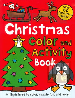 Christmas Preschool Color and Activity Book (priddy books)