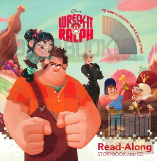 Wreck-It Ralph Read-Along Storybook and CD [Paperback]