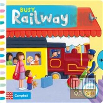 Busy Railway (Busy Books) Board book