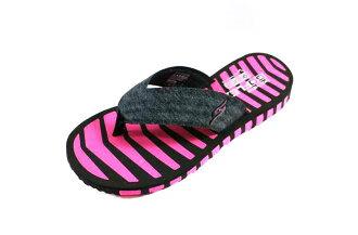 [陽光樂活] Skechers(女) Go Flex Vitality 夾腳拖鞋  -14258BKHP