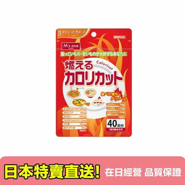【海洋傳奇】日本M's one 燃燒卡路里 120粒 約40回【訂單金額滿3000元以上免運】 0