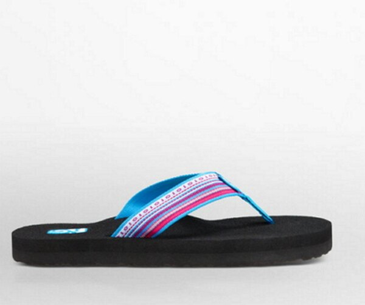 [陽光樂活] TEVA 美國-輕裝樂活系 經典織帶夾腳拖 女款  4198LMMB