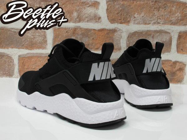 BEETLE WMNS AIR HUARACHE RUN ULTRA 二代 武士 黑白 慢跑鞋 819151-001 2