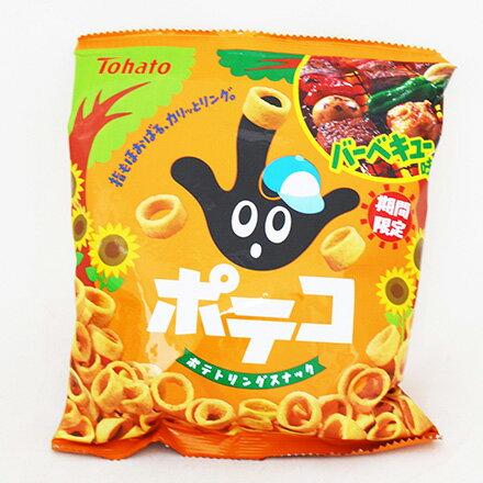 [敵富朗超市]東鳩手指圈圈餅BBQ味(58g)(有效日期:2016.11.11)