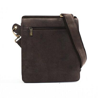 Woodland Leather Middleton Leather Messenger Bag (hunter) 0