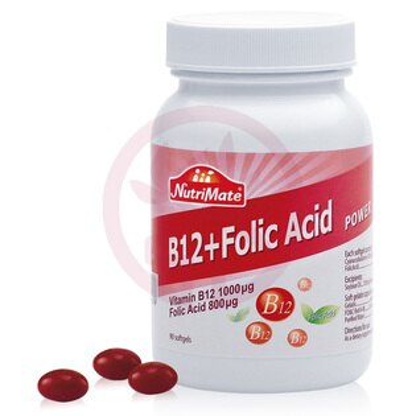 Nutrimate你滋美得 B12+葉酸(90粒/罐)x1