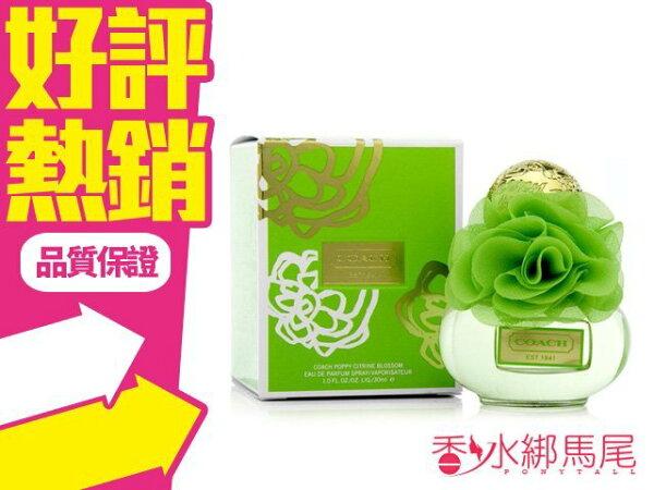 ◐香水綁馬尾◐Coach Poppy Citrine Blossom 花.綻放系列淡香精 香水空瓶分裝 5ML