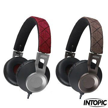 INTOPIC 廣鼎 JAZZ-M360 摺疊音樂耳機麥克風