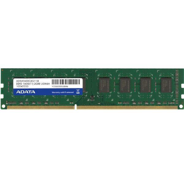 *╯新風尚潮流╭*威剛桌上型記憶體 2G DDR3-1600 穩定性高 終身保固 AD3U1600C2G11-R