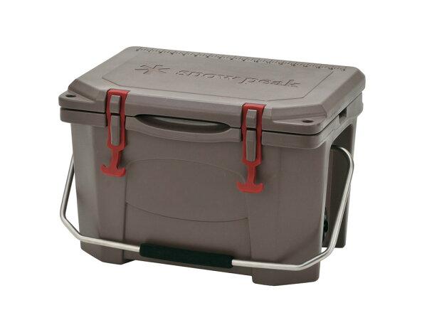├登山樂┤日本Snow Peak Hard Rock Cooler 保冷箱/冰桶20QT # UG-301GY