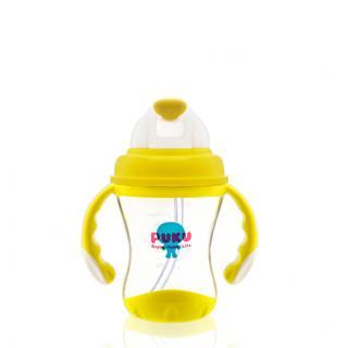 『121婦嬰用品館』PUKU 太空滑蓋吸管練習杯180ml 0