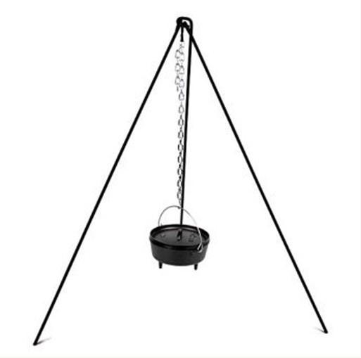 【露營趣】中和 三角吊鍋架 三角吊架 炊事吊架 荷蘭鍋吊架 tnr-019