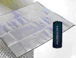 【露營趣】中和 嘉隆 台灣製造 2mm 300x300 鋁箔睡墊 UNRV 速可搭 coleman logos 6~8人帳篷可用 k-6610