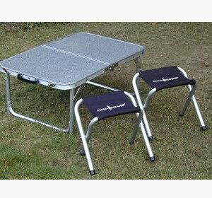 【露營趣】中和 GO SPORT 92280 桌椅組 40*60cm 二段式小桌子 摺疊桌 休閒桌