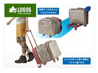 【露營趣】中和 日本 LOGOS LG81670100 斷熱海霸超凍拖輪箱 軟式冰箱 保冷袋 軟式冰桶 拖輪冰桶