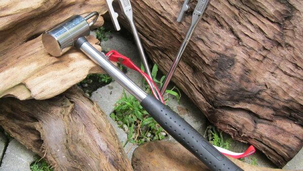 【露營趣】中和 Outdoorbase Power 鍛造鋼營槌 營錘 帳篷營釘專用錘子 25957 非snow peak coleman logos
