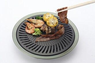 【露營趣 】中和 台灣製造 文樑 BBQ 無煙烤盤 燒烤 烤肉盤 附收納紙盒 雙口爐 單口爐 蜘蛛爐 飛碟爐 可用 FS-360