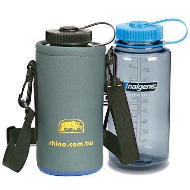 【露營趣】中和 犀牛 RHINO 317 可揹式 水壺套 保冷 保冰 保溫 Nalgene MultiDrink OTF OTG ATB PRIMUS