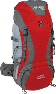 【露營趣】中和 送手電筒D型扣環 二色 犀牛 RHINO G158 58公升 48+10 易調式背負系統 登山背包 旅行背包
