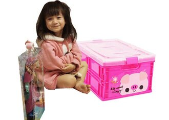 Loxin☆可愛動物圖案折疊收納箱【BN0944】可伸縮折疊 收納箱/收納盒/置物箱/置物盒/整理箱/收納櫃