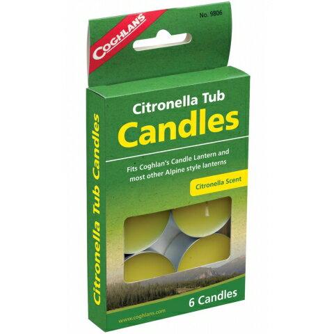 【露營趣】中和 加拿大 Coghlans 9806 香茅小蠟燭 香茅蠟燭