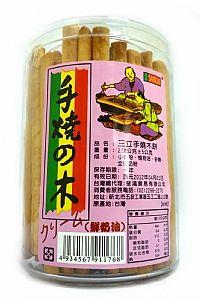 三立─手燒木(牛奶味)(罐裝)220g