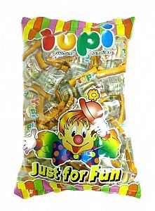 Yupi呦皮漢堡QQ糖540gx10包─箱入