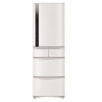 【日立HITACHI】日本原裝變頻420L。五門電冰箱。星燦白(RS42FJ/RS42FJ_W)