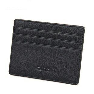 【瞎買天堂+超級實用】牛皮信用卡夾 證件夾 可放悠遊卡 可當皮夾 鈔票夾使用 口袋放的進去 【CBAA0022】 0
