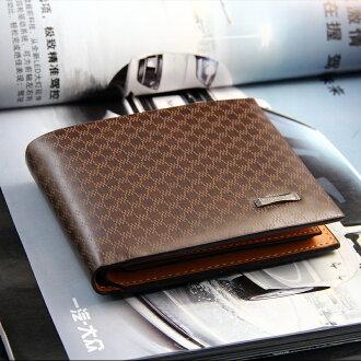 【瞎買天堂+現貨供應】經典格紋短夾 錢包 【CBAA0101】 0