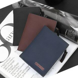 【瞎買天堂X韓式風格】韓版拉鍊短夾 可放零錢 14卡位 還可放記憶卡 錢包 【CBAA0105】 0