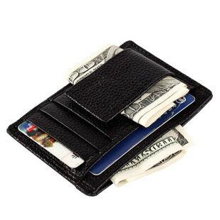 【瞎買天堂+多功實用】牛皮鈔票夾 可放信用卡 證件夾 功能多樣 收納強!【CBAA0402】 0