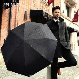 【瞎買天堂x高級品質】商務款型男專用折疊傘 自動傘 自動開關 117cm 大傘面【UBAAST01】