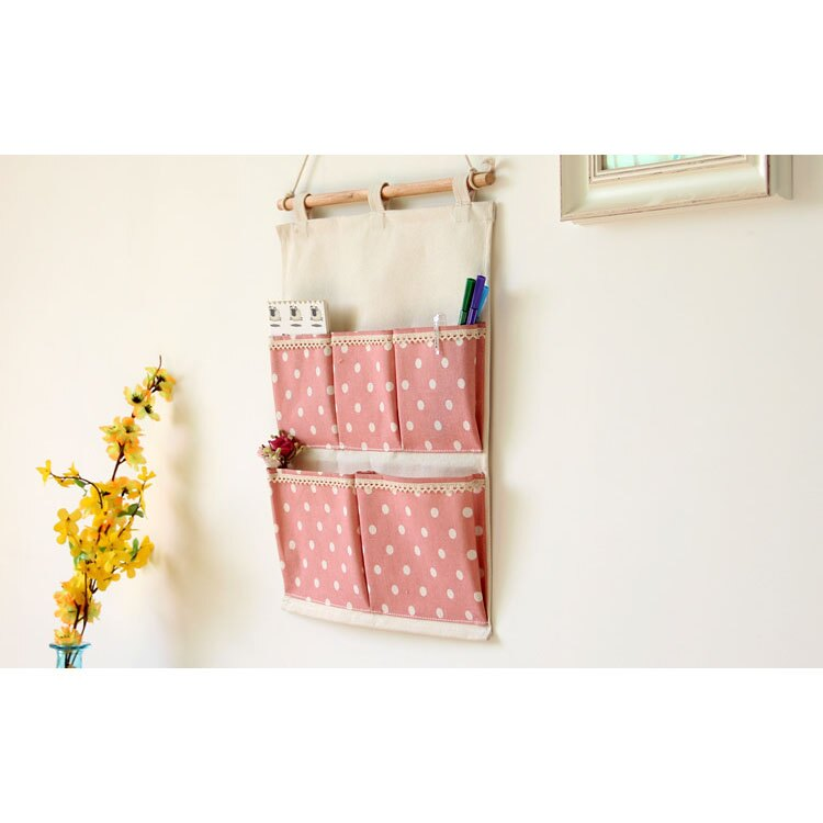 壁掛袋 多層收納袋 置物袋 信差袋  30*45【ZA0452】 BOBI  09/14 2