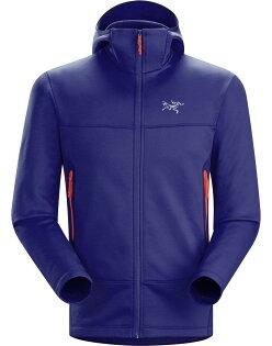 Arcteryx 始祖鳥 Arenite Hoody 連帽保暖刷毛外套 男款 藍紫 16235 Arc'teryx/台北山水